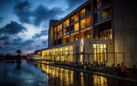 夜景酒店图片