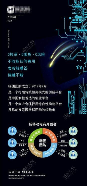 科技公司海报图片
