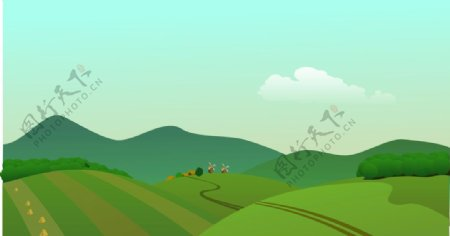 自然风景草原图片