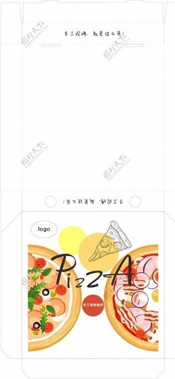 披萨包装盒图片